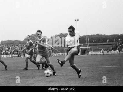 football, Regionalliga 1968/1969, promotion match to the Bundesliga 1969/1970, Rot-Weiss Oberhausen versus Hertha - Stock Photo
