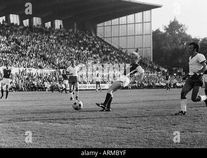 football, Regionalliga 1968/1969, promotion match to the Bundesliga 1969/1970, Rot-Weiss Essen versus Tasmania 1900 - Stock Photo