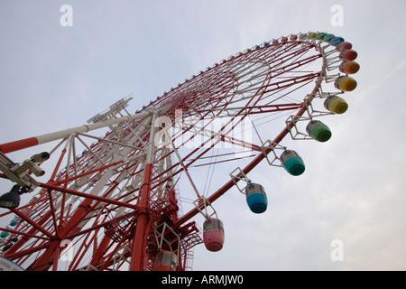 Giant Sky Wheel ferris wheel at Palette Town on Odaiba island, Tokyo, Japan - Stock Photo