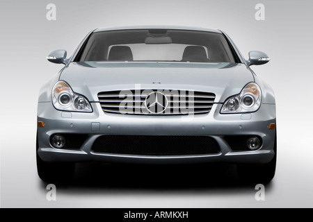 2008 mercedes benz cls class cls550 in silver tail light stock photo royalty free image. Black Bedroom Furniture Sets. Home Design Ideas