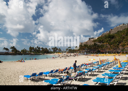 Anfi del Mar resort on Gran Canaria in the Canary islands. - Stock Photo