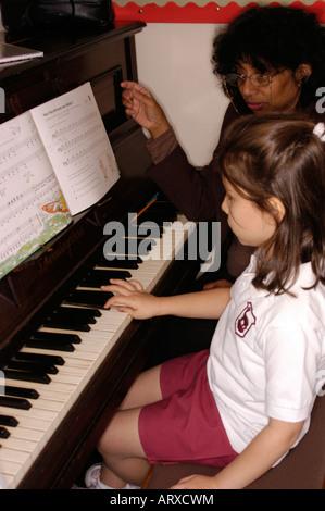 Junior School various scenes 3555 PHS Model released - Stock Photo