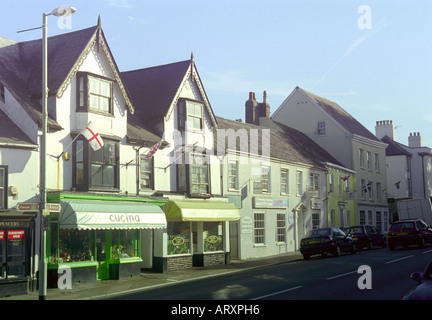 High Street, Honiton - Stock Photo