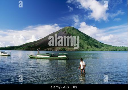 Gunung Api volcano - Stock Photo
