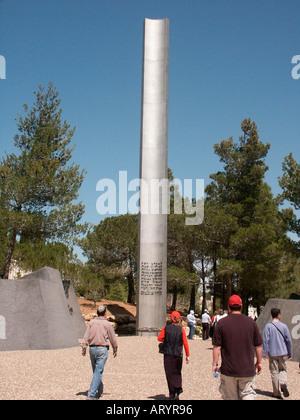Yad Vashem Jerusalem Israel, Pillar of Heroism - Stock Photo