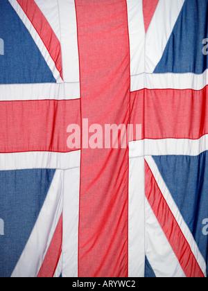 Union Jack British flag Great Britain UK - Stock Photo