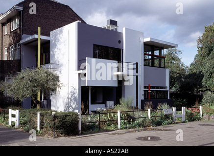 the netherlands utrecht rietveld schroder house aerial stock photo 52751485 alamy. Black Bedroom Furniture Sets. Home Design Ideas