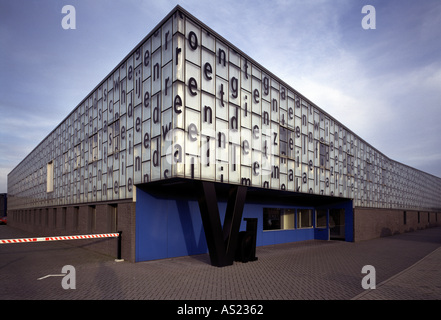 Ede, Druckerei in der Maxwellstraat, Architekt: Willem Jan Neutelings - Stock Photo