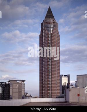 Frankfurt/Main, Messeturm, - Stock Photo
