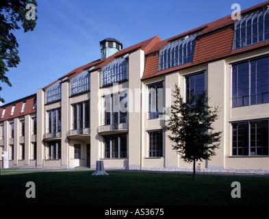Weimar, ehemalige Kunstgewerbeschule (Bauhaus), Van-de-Velde-Bau, 1904-1906 - Stock Photo
