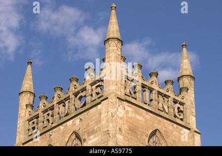 dh Dunfermline Abbey DUNFERMLINE FIFE Inscription King Robert the Bruce tower