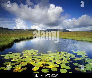 IE - CONNEMARA: Ahalia River at Maam Cross near Clifden - Stock Photo