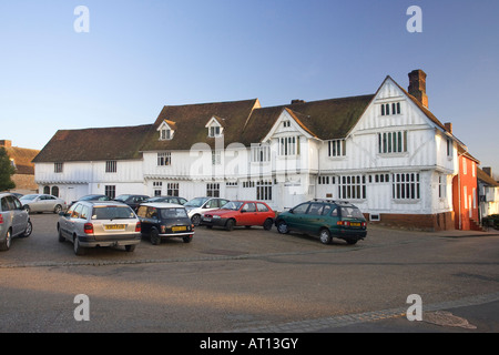 The Guildhall of Corpus Christi in the market square in Lavenham, Suffolk, UK, 2008 - Stock Photo