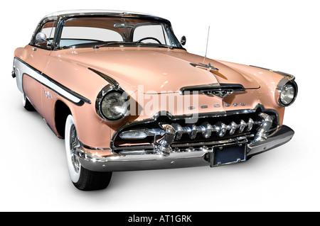 DeSoto Fireflite Sportsman 1955 Classic retro car - Stock Photo