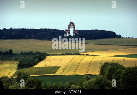 FRANCE THIEPVAL MEMORIAL SOMME WORLD WAR ONE WWI DESIGNED BY SIR EDWIN LUTYENS MEMORIAL - Stock Photo