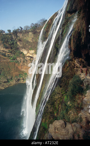 Huangguoshu Falls China s highest waterfall Guizhou province China - Stock Photo