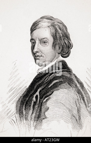 John Dryden 1631 1700 English poet dramatist and literary critic - Stock Photo