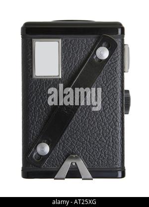 Kodak Brownie Model 1 camera, top view - Stock Photo