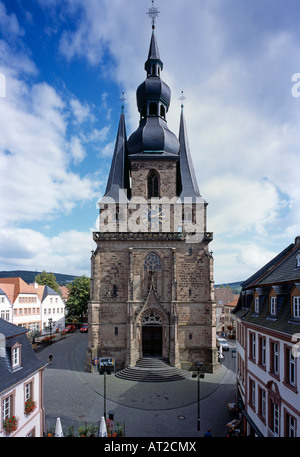 St. Wendel, Basilika St. Wendelin (Wendalinusbasilika), Westfassade - Stock Photo
