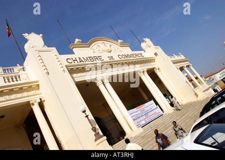 Senegal dakar french colonial building goree island for Chambre de commerce du niger