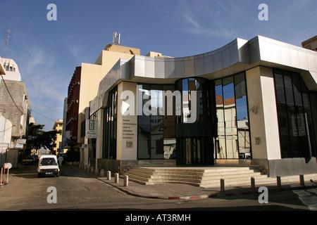 Senegal Dakar Central bank building - Stock Photo