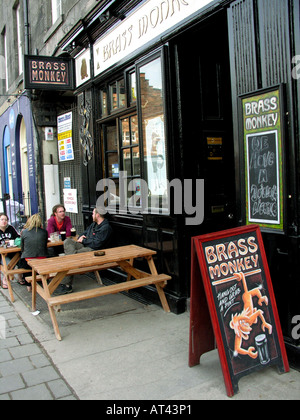 Brass Monkey pub Edinburgh Scotland - Stock Photo