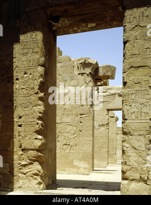 geography / travel, Egypt, Kom Ombo, temple, gateway - Stock Photo