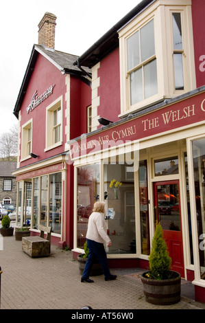 exterior of the rhiannon gold centre and crafts shop  tregaron ceredigion mid wales UK - Stock Photo