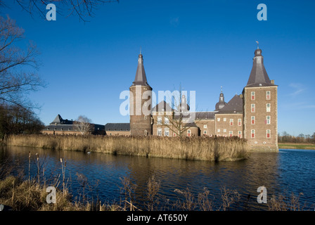 Schloss Hoensbroek in Heerlen Niederlande - Stock Photo