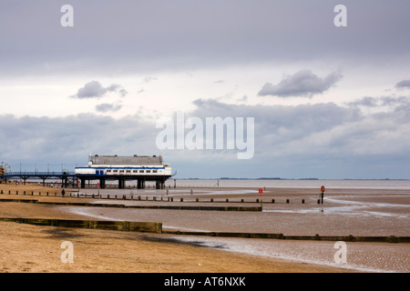 Cleethorpes Pier North East Lincolnshire Coast - Stock Photo