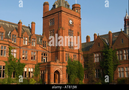 Campbell College main building in Belfast - Stock Photo