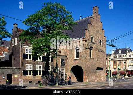 Gevangenpoort Old Prison Gebroeders de Wit Witt Den Haag The Hague - Stock Photo