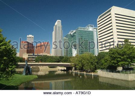 Omaha,  Nebraska, USA - Stock Photo