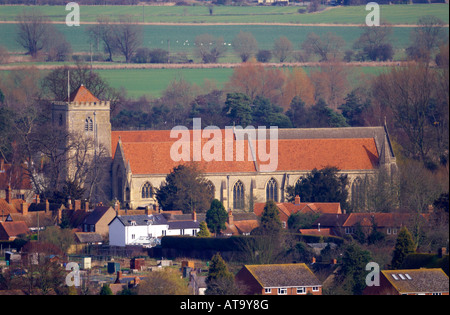 The Abbey at Dorchester-on-Thames - Stock Photo