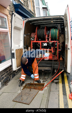 how to clean a blocked drain outside the kitchen