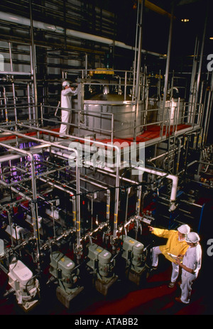 High tech industrial research scene - Stock Photo