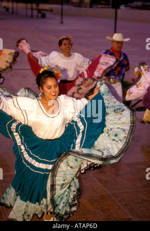Mexican Dancers Wearing Traditional Clothes And Tightly ...