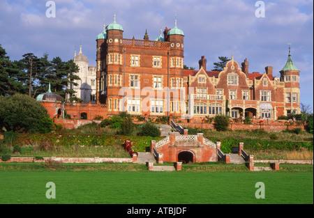 Bawdsey Manor Suffolk England - Stock Photo