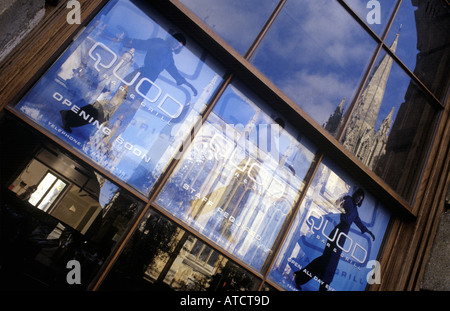 The Quod, a bar and restaurant at the Old Bank Hotel in  Oxford, UK - Stock Photo