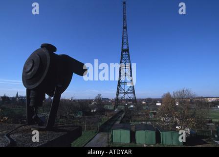 The Gliwice Radio Tower (Sender Gleiwitz), Poland - Stock Photo