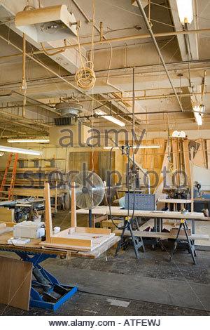 Carpenters workshop - Stock Photo
