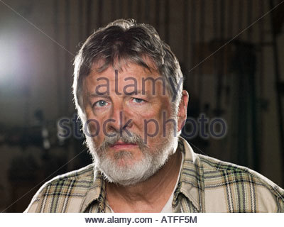 Male blue collar worker - Stock Photo