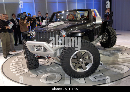Jeep Hurricane Concept Vehicle At The North American International