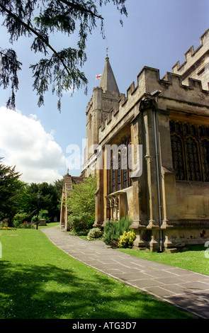 Holy Trinity church in Bradford on Avon - Stock Photo