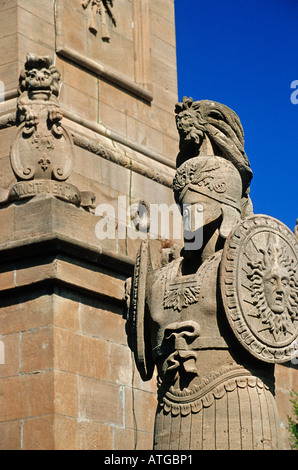 Major General Sir Isaac Brock Statue - Stock Photo