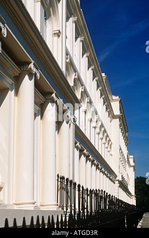 Terrace at regents park - Stock Photo