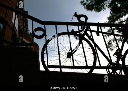 Boston Bike - Stock Photo