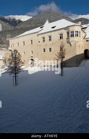 Rennaissance Castle Goldrain, Italy - Stock Photo