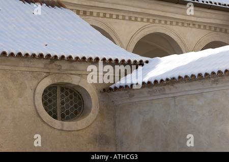 Rennaissance Schloss Goldrain, Italy - Stock Photo