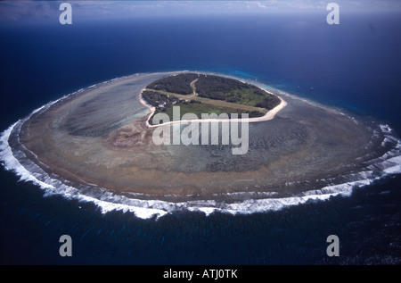 Lady Elliot island, Australia, paradise, island, blue water, reef coral, tropical coral, tropical island, vacation, - Stock Photo